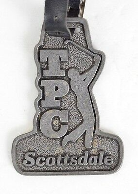 Tpc Scottsdale Metal Golf Bag Memorabilia Course Badge 16Th Hole Experience