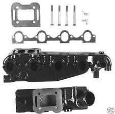 MERCRUISER Exhaust Manifold & Riser Kit 816219A GENUINE 3.7LTR 4CYL 165-470-488