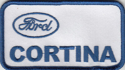 Ford Cortina Embroidered Patch