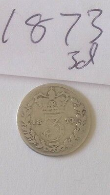 Queen Victoria 3d Threepence Three Pence Silver Coins