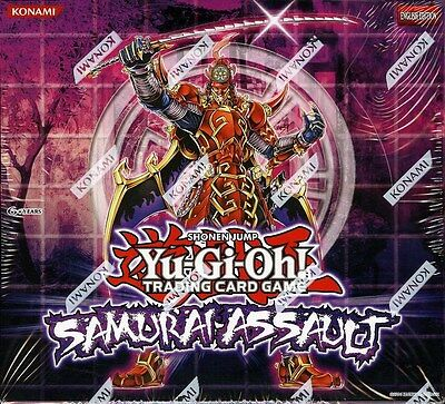 Yugioh Samurai Assault Special Edition Box Blowout Cards