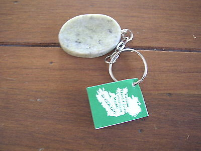 Connemara Marble by Gerard Worry Stone handcrafted Key Ring