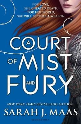 NEW A Court of Mist and Fury By Sarah J. Maas Paperback Free Shipping