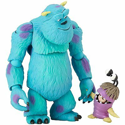 Revoltech Pixar Monster's Inc Sully & Boo Articulated Action Figure