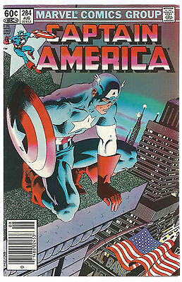 CAPTAIN AMERICA # 284 * MIKE ZECK cover
