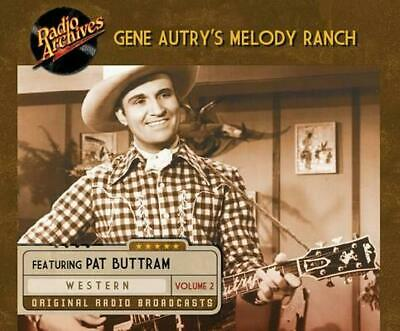 Gene Autry's Melody Ranch, Volume 2 (English) MP3 CD Book Free Shipping!
