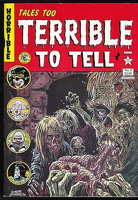 Tales Too Terrible To Tell 1 Pre-Code Horror Comic Reprints The Tick Nec