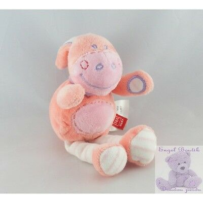 8510 - Doudou Ane cheval rose TEX 19 cm - Security blanket