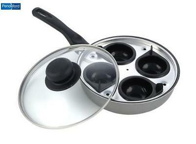Pendeford 4 Cup Egg Poacher Food Prepware Cookware Kitchen Home New