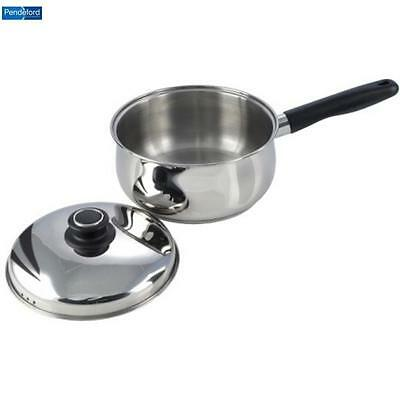 Pendeford Stainless Steel Sauce Pan 20Cm Food Prepware Cookware Home New