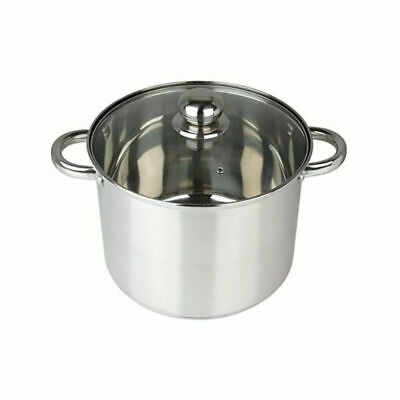 Pendeford Stainless Steel Deep Stock Pot 24Cm Food Prepware Cookware Home New