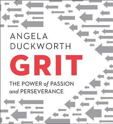 Grit: The Power of Passion and Perseverance by Angela Duckworth (English) Compac