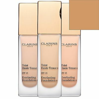 Clarins Everlasting Liquid Foundation SPF15 112.5 Caramel 30ml for her BRAND NEW