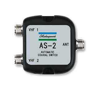 Shakespeare Automatic Coaxial Switch allows 2 Radios on 1 Antenna Marine Boat