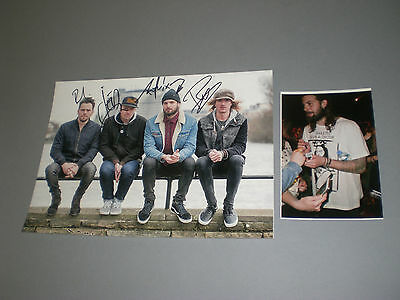 Sunset Sons - Remember signed autograph Autogramm 8x11 inch photo in person