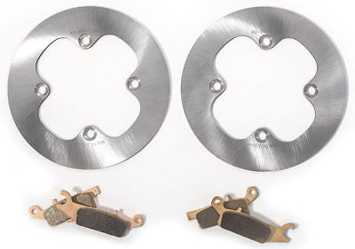 2012 - 2017 Yamaha Grizzly 700 - Rear MudRat Brake Rotors and Severe Duty Pads