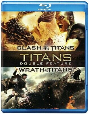 CLASH OF THE TITANS (2010) ...-CLASH OF THE TITANS (2010) / WRATH OF Blu-Ray NEW