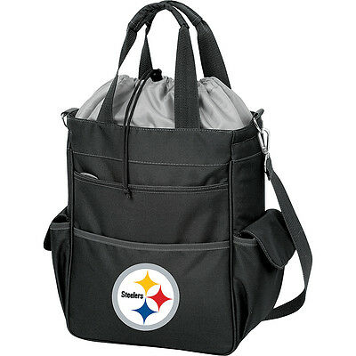 Picnic Time Pittsburgh Steelers Activo Cooler Travel Cooler NEW
