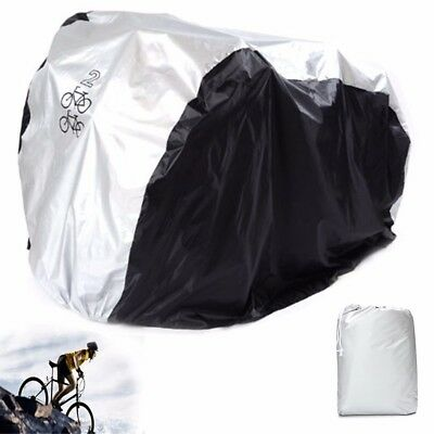 Waterproof Bicycle Cycling Scooter Rain Dust Cover Protector for Dual 2 Bikes
