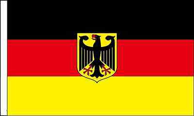 Germany Crest Sleeved Flag suitable for Boats 45cm x 30cm