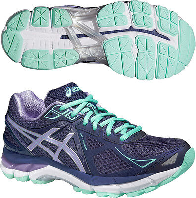 ASICS GT 2000 3 Ladies Pronation Support Road Running Sports Trainers Shoes
