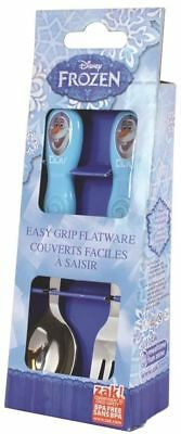 Frozen Olaf Children's 2 Piece Cutlery Set Fork Spoon New Boxed Gift