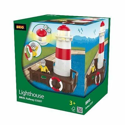 BRIO Lighthouse Wooden Train Engine Thomas compatible NEW 33597