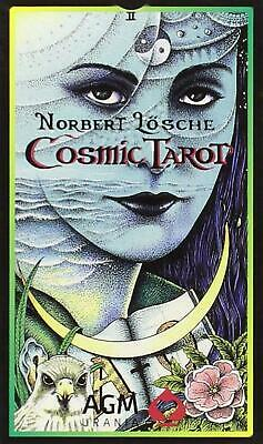 Cosmic Tarot: 78-Card Deck by Norbert Losche (English) Cards Book Free Shipping!