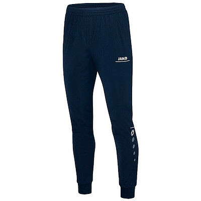 Jako Polyester Trousers Striker Junior Sport Casual Jogging Pants Navy Blue