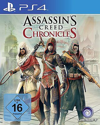 Assassins Creed Chronicles (Trilogy) PS4 Playstation 4 ! newboxed
