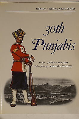 British Indian Army 30th Punjabis Osprey Reference Book