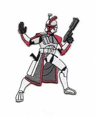 Star Wars Clone Trooper Figure Embroidered Patch, NEW UNUSED