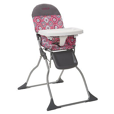Cosco Simple Fold High Chair, Posey Pop, New, Free Shipping