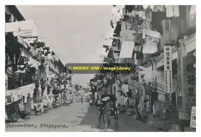 rp10957 - China Town , Singapore - photo 6x4 reproduction