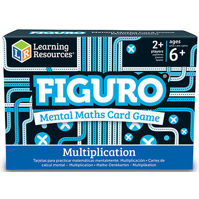Learning Resources Figuro Mental Maths Match MULTIPLICATION Card Game NEW