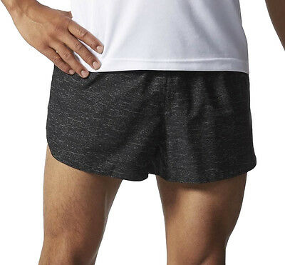 Adidas Supernova Split Mens Running Shorts - Black