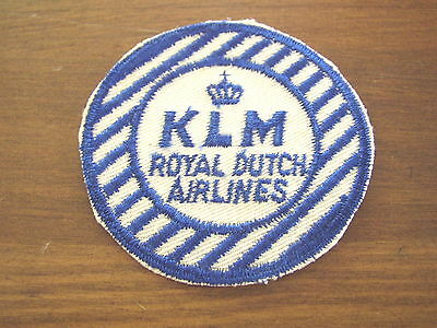 KLM Royal Dutch Airlines cloth Patch