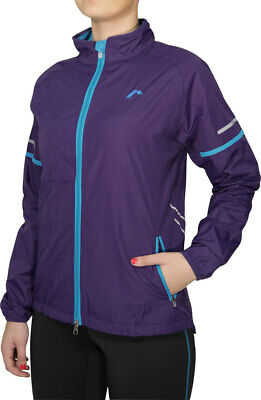 More Mile Prime Ladies Running Jacket - Purple