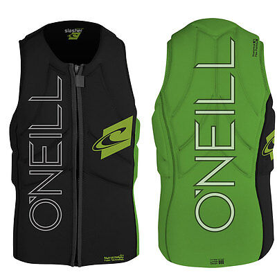 2016 O'Neill Slasher Kite Mens Zip Padded Vest 2 Colours