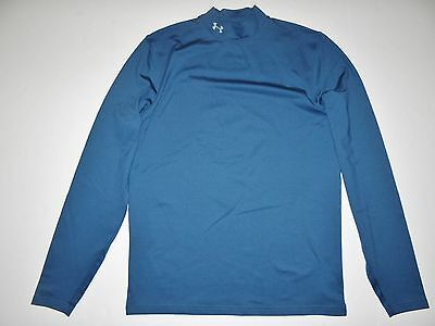 New Mens Under Armour ColdGear Fitted Base Layer Long Sleeve Shirt Large