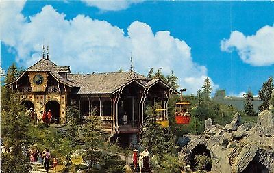 Disneyland Skyride D-6 / 0384 Chrome Postcard