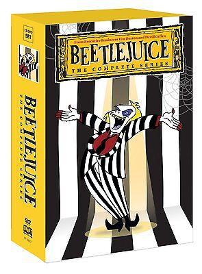 Beetlejuice Complete TV Series Seasons 1 2 3 4 DVD Boxed Set NEW!