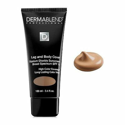 Leg and Body Cover Make-Up SPF 15, Medium (3.4 Oz.) by Dermablend