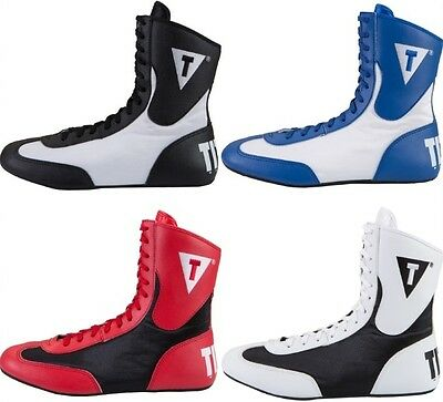 TITLE Speed-Flex Encore Mid Top Boxing Shoes - Youth & Adult