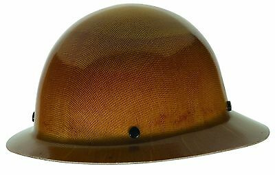 """Heavy Duty Construction Hard Hat Full Brim Safety Works 6.5-8"""" Head Protection"""