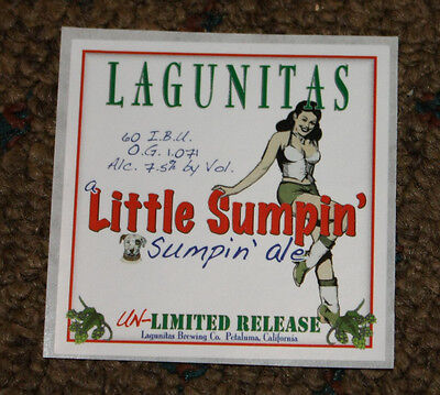 LAGUNITAS BREWING LITTLE SUMPIN ALE STICKER label decal craft beer brewery