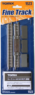 Tomix 1523 140mm Straight Track with Rerailer S140-RE (N scale)