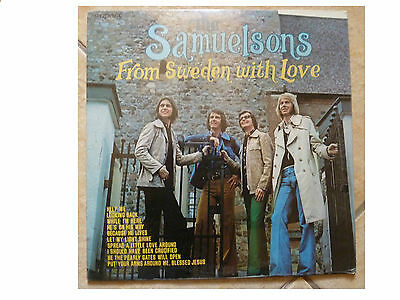 The Samuelsons * From Sweden With Love * Sealed Vinyl Lp Impact R3323