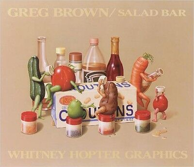 Greg Brown - Salad Bar Bild Poster Kunstdruck (71x61cm) #2828