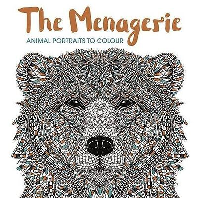 The Menagerie: Animal Portraits to Colour - 1910552151